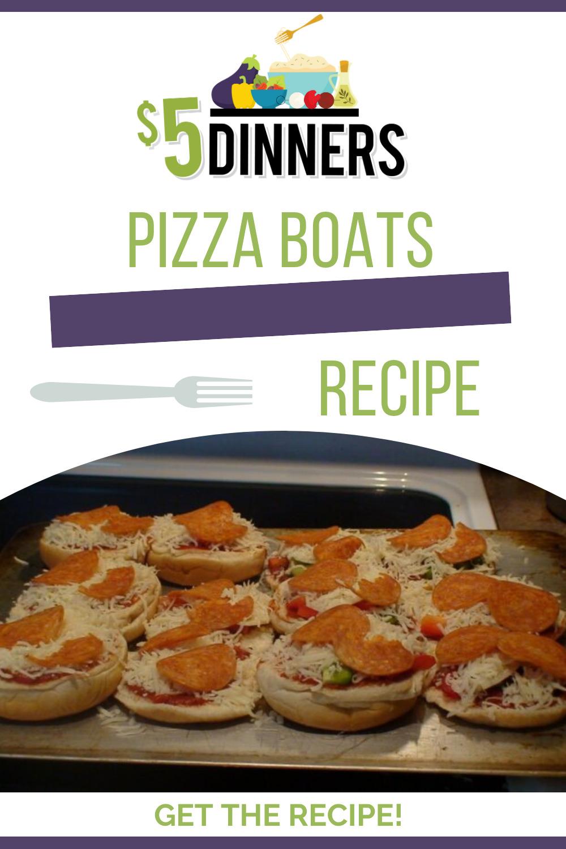 pizza boats recipe