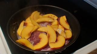 Pork with Peaches