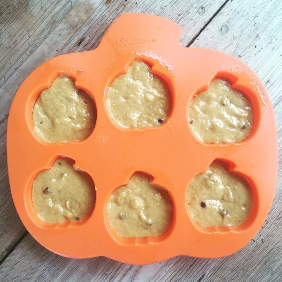 pumpkin muffin pan