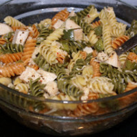 Roasted Bell Pepper Rotini | 5DollarDinners.com