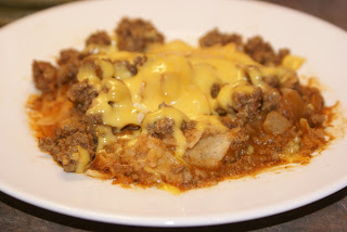 Quick Beef Burrito Skillet