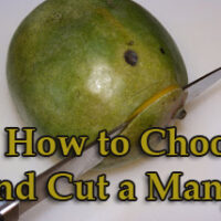 how to choose and cut mango1 200x200 How To & Cooking Tutorials