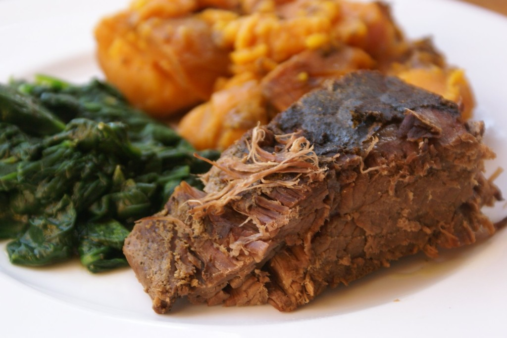 Beef Roast and Sweet Potatoes