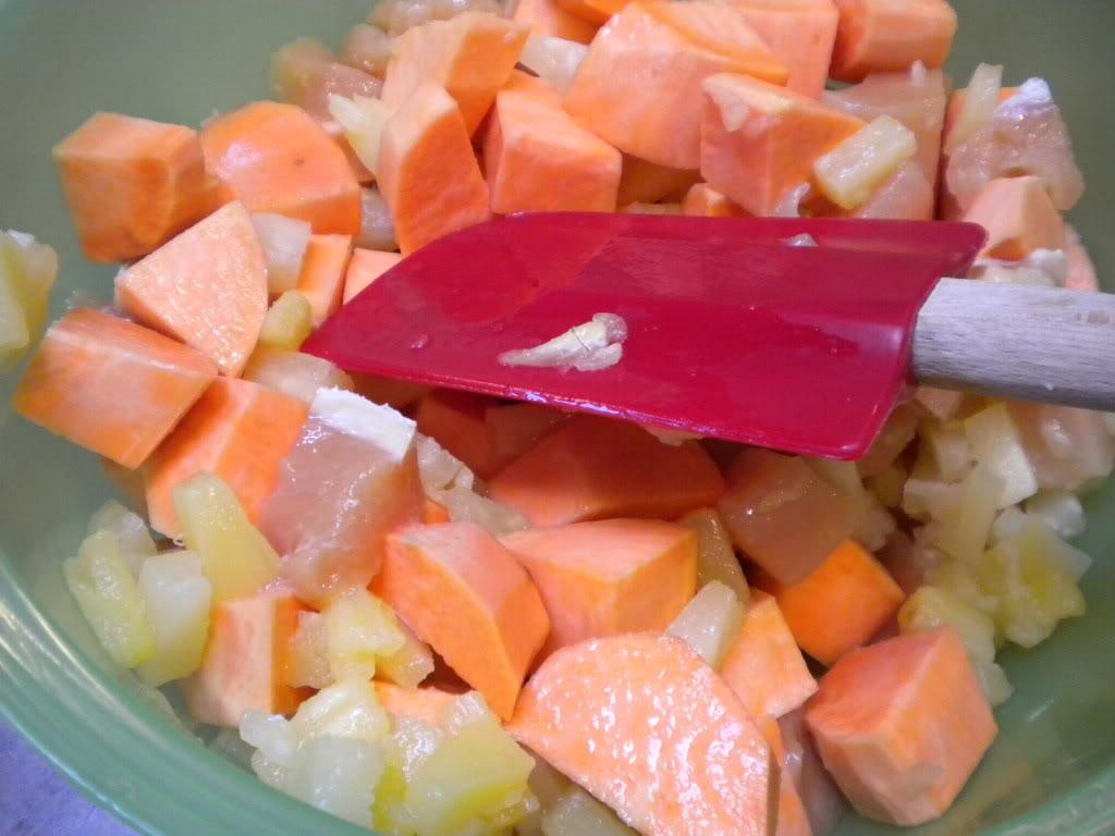 Ginger Sweet Potato Chicken Bake | 5DollarDinners.com