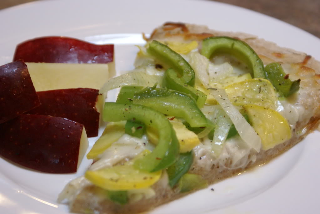 Homemade Veggie Pizza | 5DollarDinners.com