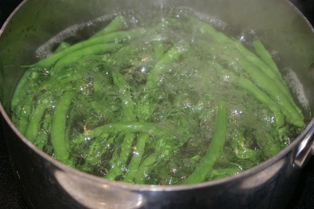 Freezing green beans3