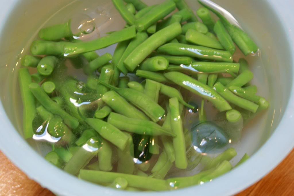 Freezing green beans4