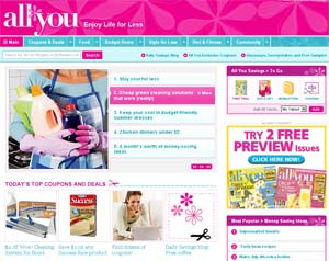 97893 allyou site New All You Website plus ALL YOU Magazine Giveaway