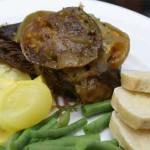 Slow Cooker Green Tomato Beef Roast – $5 Dinner Challenge