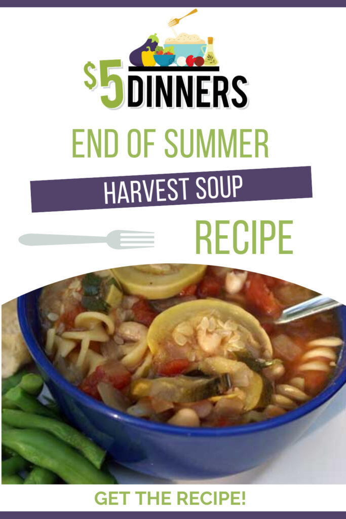 end of summer harvest soup