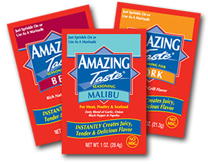 amazing taste CLOSED! Amazing Taste Spice Packets Giveaway