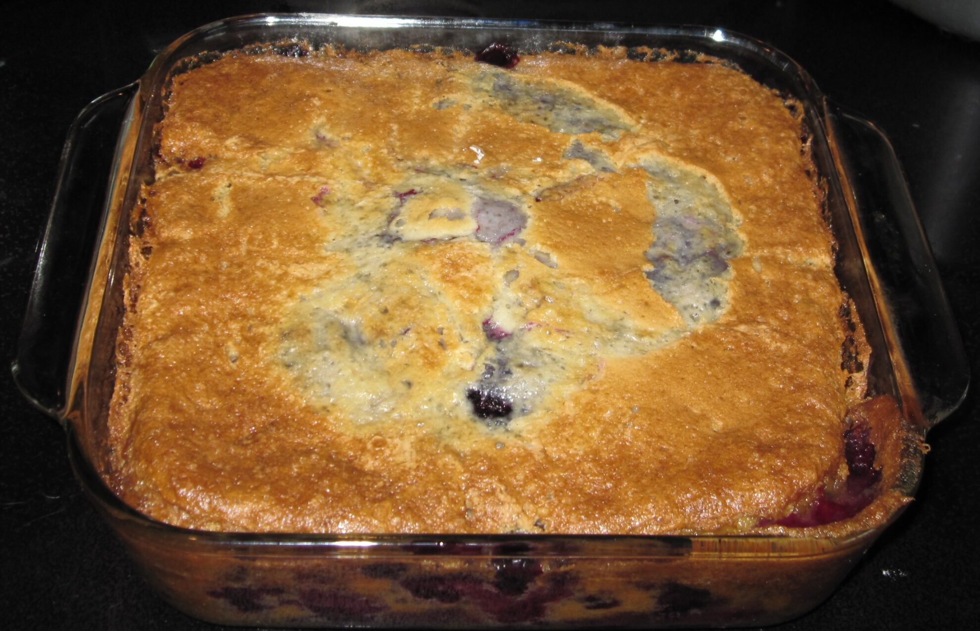 quenby bontrager: Blackberry cobbler recipe
