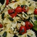 Italian Chicken and Bowtie Pasta