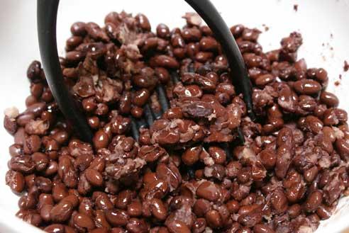 mash-beans