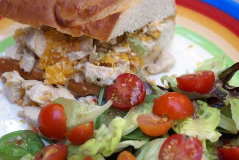 asian chicken salad Sweet Asian Chicken Salad Sandwiches