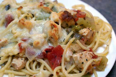 baked-chicken-spaghetti-on