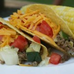 Beef and Zucchini Tacos