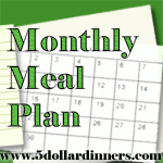 5DollarMenuFinal1Button1 Monthly Meal Plan   March 2011