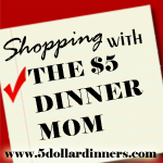 5DollarShoppingFinalButton Shopping Adventures   The My Kroger Store Closed and the 50% off Sale Edition