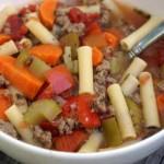 Beefy Mac Soup – $5 Dinner Challenge