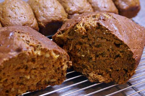 pumpkin-coconut-loaves