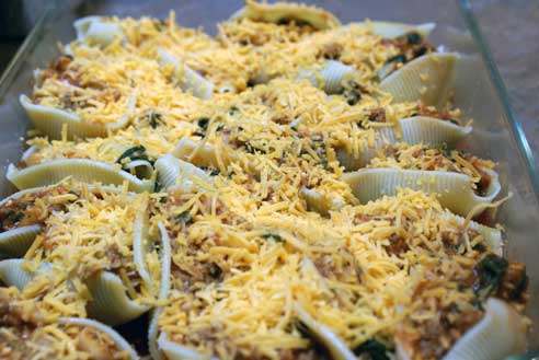 stuffed shells pan Italian Stuffed Shells