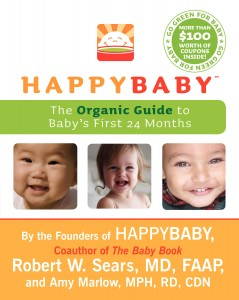 HappyBaby Book Cover hi res 239x300 CLOSED! Happy Baby Book Giveaway