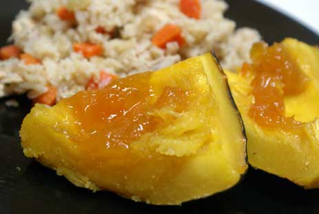 cicken and rice 3 Homemade Chicken and Rice with Apricot Acorn Squash
