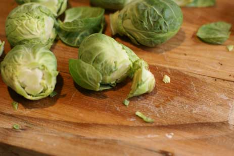 cutting-brussel-sprouts