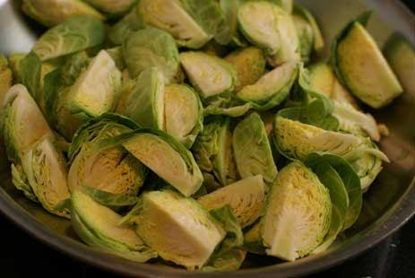 quartered-brussel-sprouts