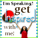 speaking 1 A Woman Inspired   Im Speaking! (And a Giveaway!)