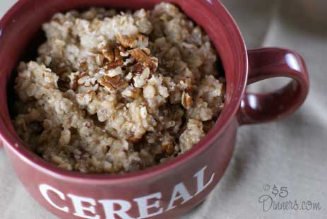 Maple Pecan Oatmeal 2 Maple Pecan Oatmeal