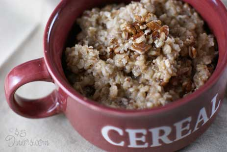 Maple Pecan Oatmeal Maple Pecan Oatmeal