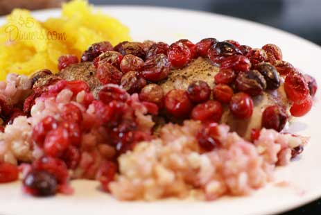 cranberry chicken 7 Cranberry Chicken and Rice