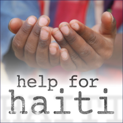 help for haiti Overwhelmed with Gratitude!