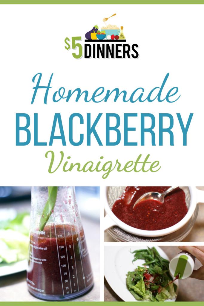 Homemade Vinaigrette Dressing