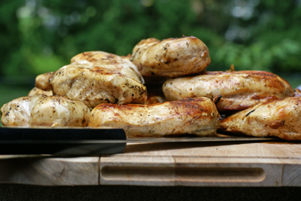 batch grilled chicken Batch Grilling Chicken Breasts