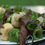 Beef and Mushroom Kebabs – $5 Dinner Challenge