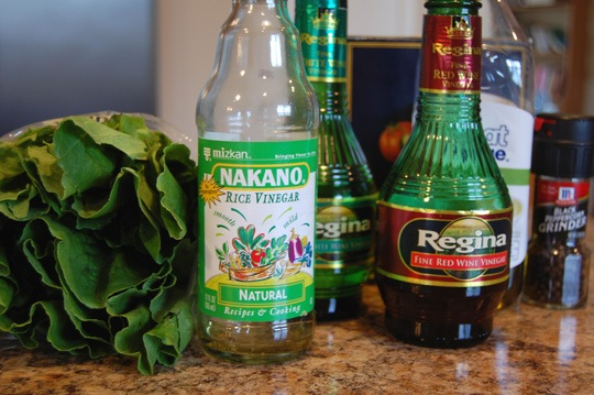 salad dressing ratios Homemade Salad Dressings with Ratios instead of Recipes