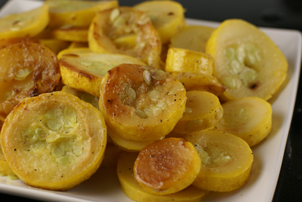 steam sauteed yellow squash1 Yellow Summer Squash Steam Sauteed