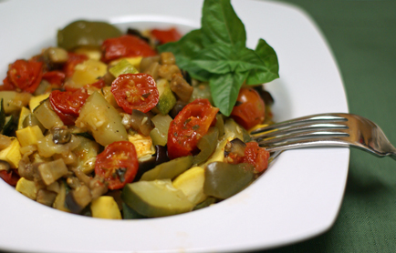 roasted garden ratatouille Roasted Garden Ratatouille   $5 Dinner Challenge