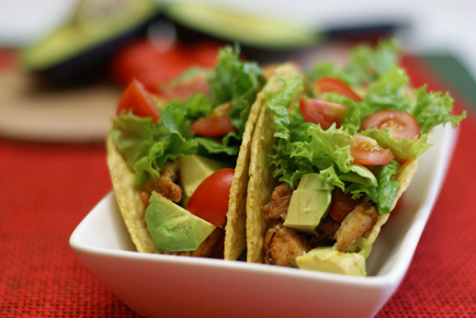 Avocado-Chicken-Tacos