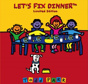 LFD Tom Parr 300x287 CLOSED! Lets Fix Dinner by Todd Parr   Childrens Book Giveaway