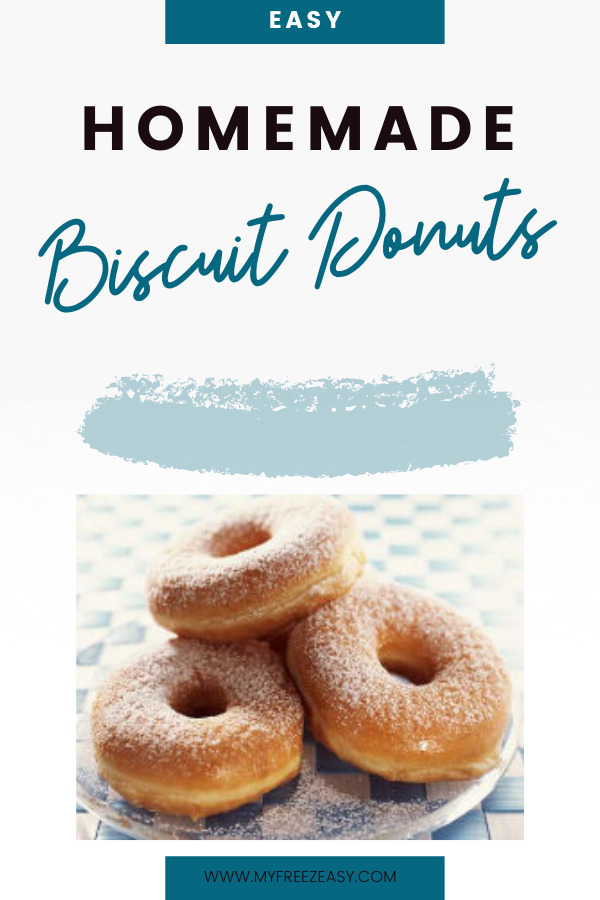 homemade biscuit donuts