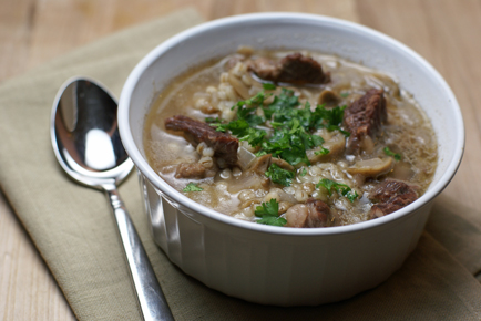 beef barley soup Beef, Mushroom and Barley Soup   $5 Dinner Challenge