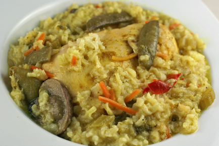 curried coconut chicken clo Slow Cooker Curried Coconut Chicken   $5 Dinner Challenge