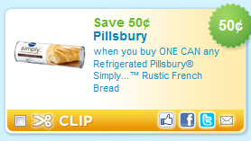 pillsbury simply rustic french bread Printable Coupons: Pillsbury, Fleischmanns, Minute Rice, and More