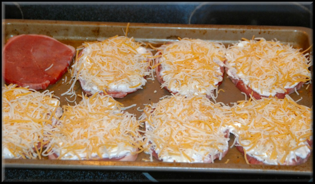 easy cheesy pork chops