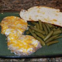 Cheesy Pork Chops from 5DollarDinners.com