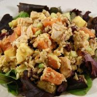Curried Turkey Salad ~ a perfect Thanksgiving leftovers recipe | 5DollarDinners.com